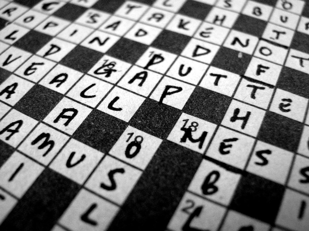 Crossword Puzzle of the Week: September 8