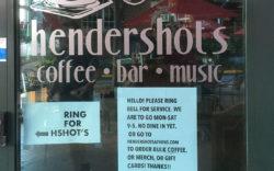 Hendershot's front door